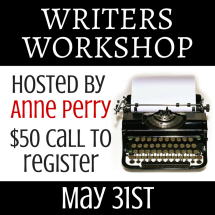 Writers Workshop with Anne Perry