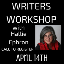 Writers Workshop with Hallie Ephron