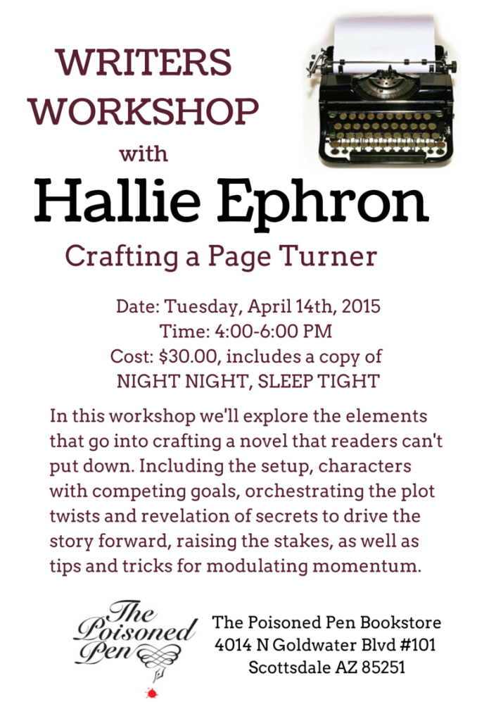 Crafting a Page Turner (1)