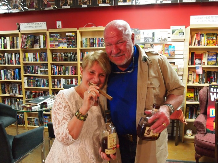 PP Barbara and Randy Wayne White