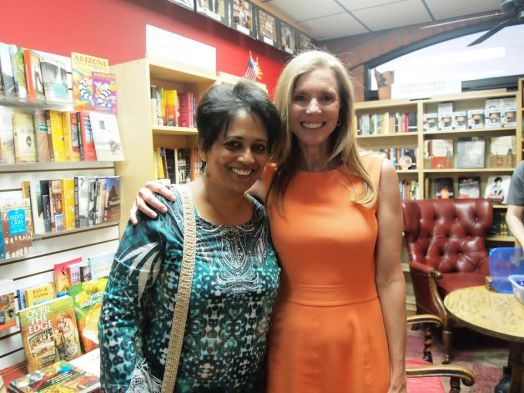 Anne Wilson and Shona Patel