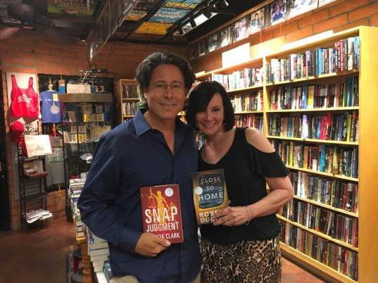Robert Dugoni and Marcia Clark