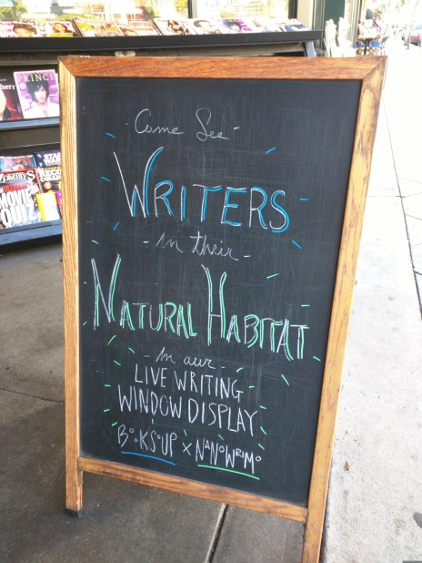 Book Soup sign