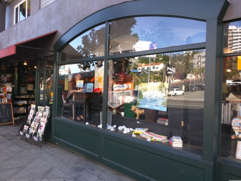 Book Soup window