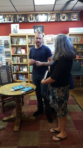 Matt Haig and Canadian fan