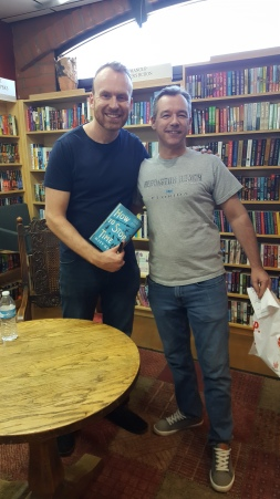 Matt Haig and customer